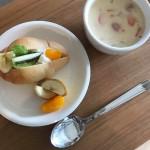 天然酵母ロールパンのフルーツサンド