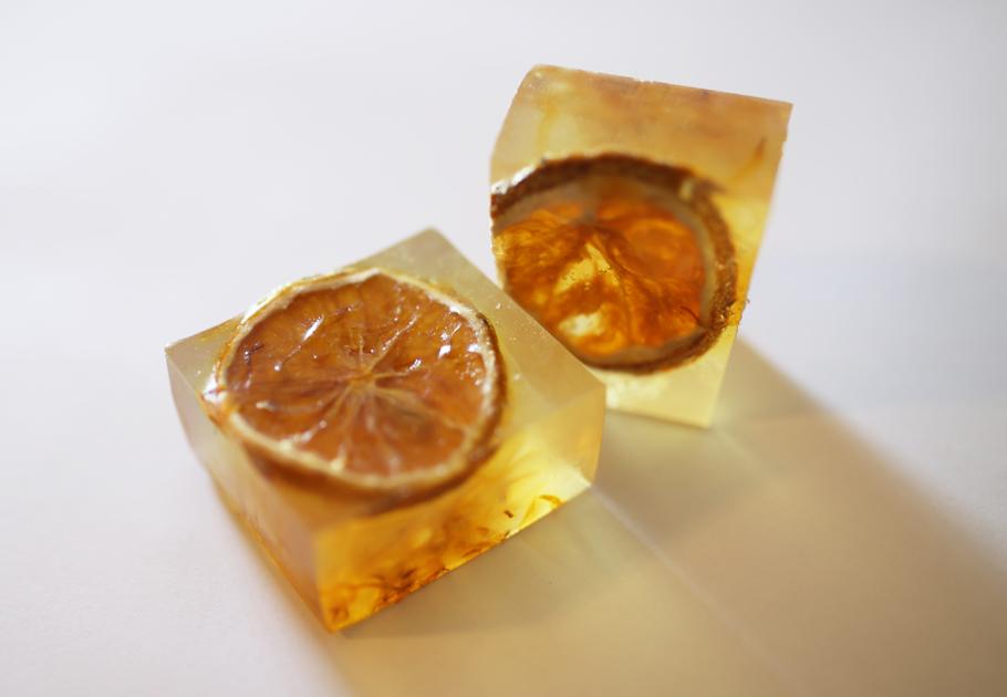 オレンジ石鹸2