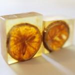 オレンジ石鹸完成