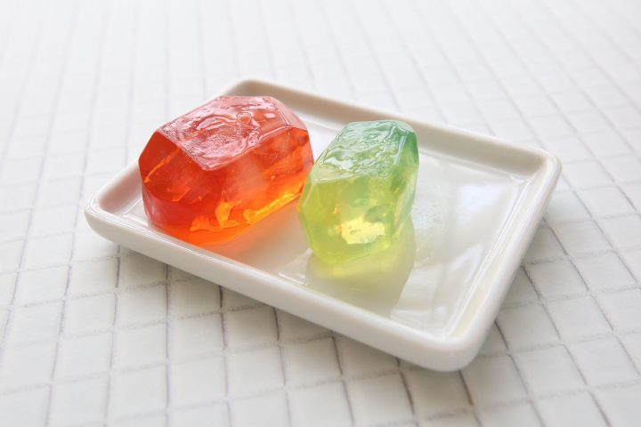 宝石石鹸の透明度の上げ方、磨き方のコツ