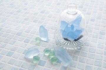 心と手肌に幸せ、宝石石鹸にアロマをプラス