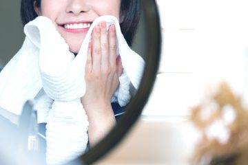 肌ケアもできるオイル洗顔
