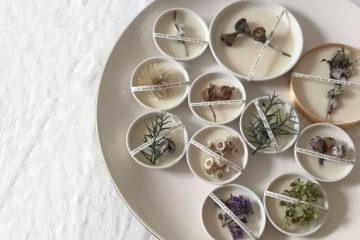 Botanical aroma wax bar